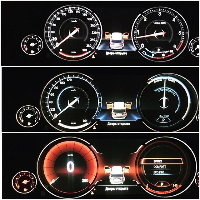 LED приборная панель на BMW F15 BMW (бмв) - Ростов на Дону, Краснодар