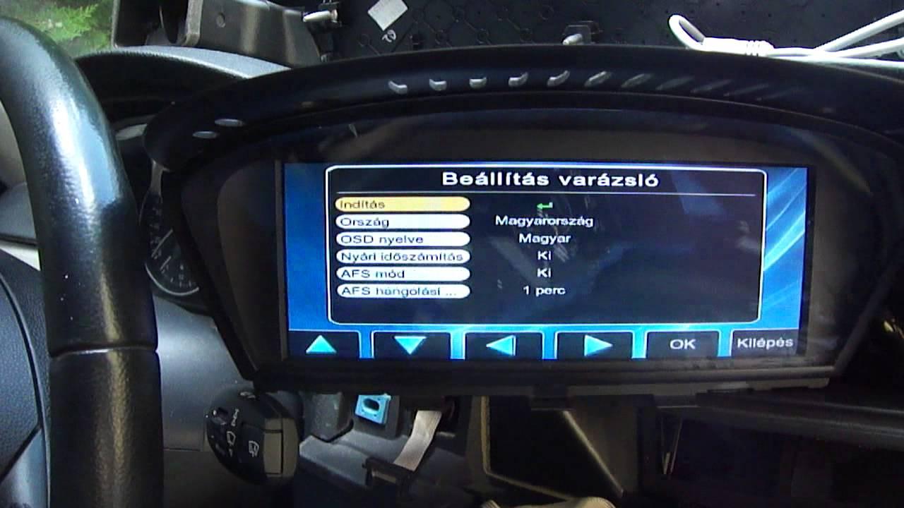 ТВ тюнер для БМВ, установка tv-тюнера в bmw